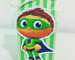 Caixinha Milk Box P - Super Why