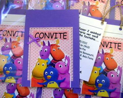 CONVITES SCRAPBOOK BACKYARDIGANS