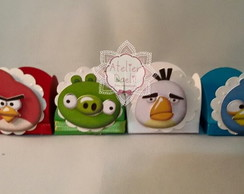 Forma de Doce| Angry birds