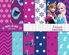Kit Papel Digital Frozen (3)