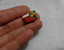 Mini botinha do papai noel de Biscuit
