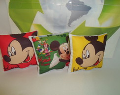 Almofadas Mickey e Minnie 14x14