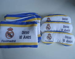 NECESSAIRE + MASCARA REAL MADRID
