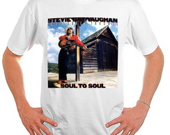 Camiseta Rock - Stevie Ray Vaughan