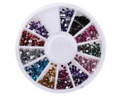 Kit Com 1500 Mini Strass 2mm -NAIL ART