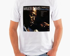 Camiseta Rock - Jazz - Miles Davis