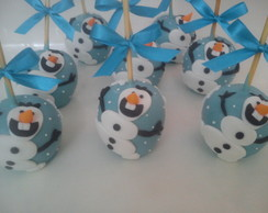 "Maçã de Chocolate - ""Frozen - OLAF"""