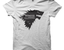 Camiseta Game of Thrones - Winter