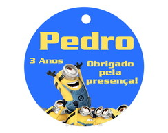 Arte Digital Tag Minions