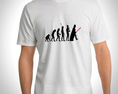 Camiseta Star Wars - Evolution