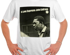 Camiseta Rock - Jazz - John Coltrane