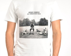 Camiseta Rock - George Harrizon