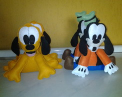 enfeite de mesa turma do mickey