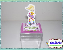Rótulo Cx de ac 3d luxo - Polly Pocket