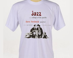 Camiseta Rock - Jazz - Dave Brubeck