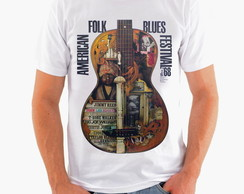 Camiseta Rock - Blues