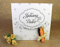 Caderno de colorir - LoveBirds