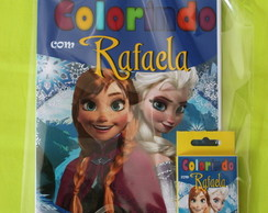 Revista Para Colorir KIT FROZEN