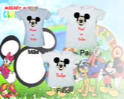 Camisetas do Mickey para Aniversario