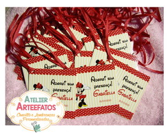 Tag Personalizada - Minnie