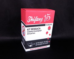 Kit Ressaca Box 15 anos + Brinde