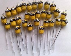 Toppers para Doces Minions em Biscuit