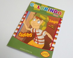 Revista para colorir - chaves