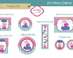 Kit Festa Digital Peppa II