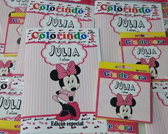 Kit Colorir - Minnie