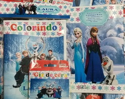 Kit Colorir - Frozen