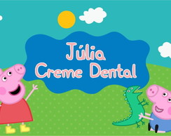 Rótulo Creme Dental