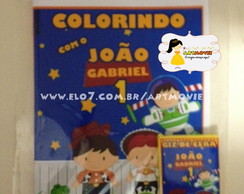 Kit de Colorir Toy Story Cute
