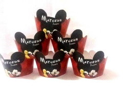 Wrappers Mini Cup Cake Mickey