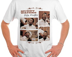 Camiseta Rock - Muddy Waters