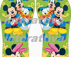 chinelo da turma do mickey mouse