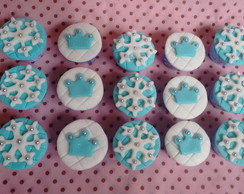Mini cupcakes decorados Frozen
