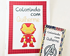 Kit Colorir - Vingadores