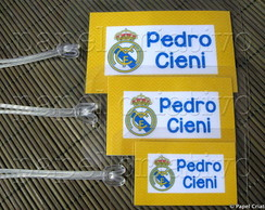 Kit 3 Bagtags - Real Madrid