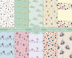 Kit Papel Digital Cute