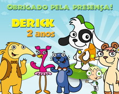 Rótulo Para Squeeze - Discovery Kids