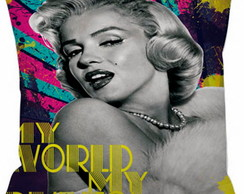 Capa Almofada 26 Marilyn Monroe My World
