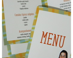 Menu Arraiá