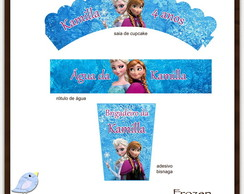 Kit digital Frozen | para imprimir