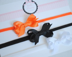 Kit 3 headbands baby - mini laçarote