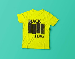 Camiseta Black Flag