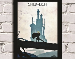 Poster com Moldura Child Of Light