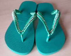 Chinelo - havaianas TOP decorada 37/38
