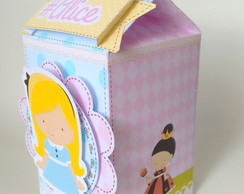 Caixa Milk Alice Scrap