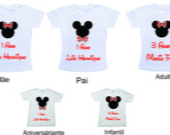 Kit Aniversario da Minnie e do Mickey