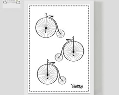 Poster Decorativo Bike Vintage